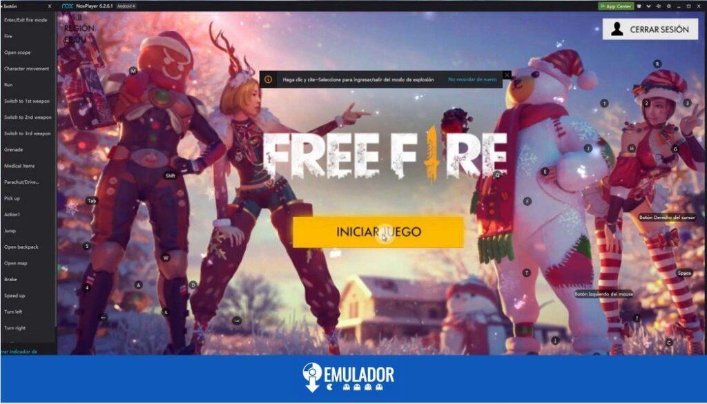 NOX free fire
