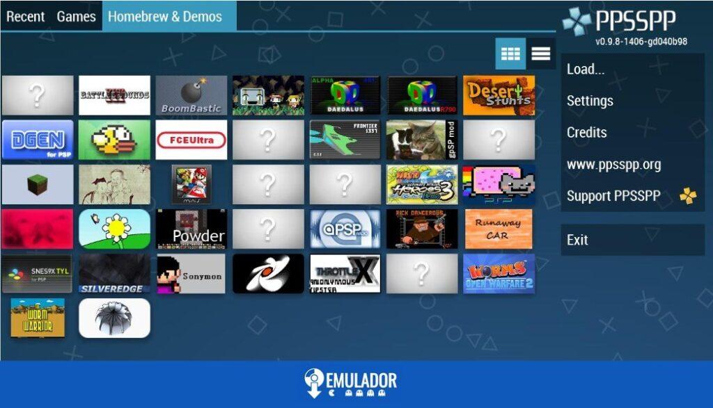 descargar emulador PSP